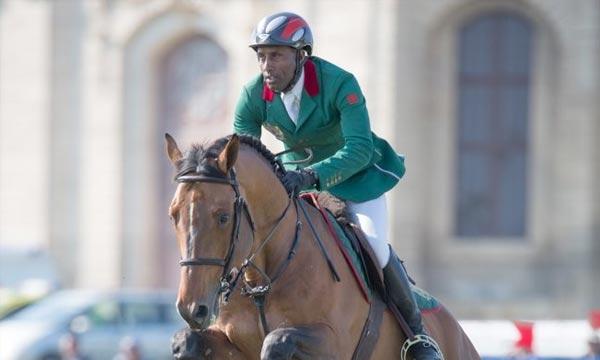 Le cavalier Abdelkebir Ouaddar a signé un temps rapide de 45.88 et se qualifie pour le Grand Prix d'Al Ain. Ph : photo-equi.com