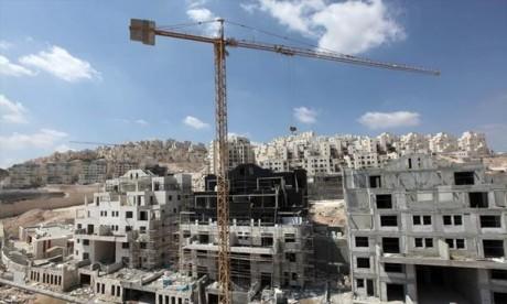 Plus de chantiers en Cisjordanie en 2014
