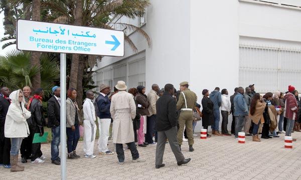 Le projet vise à soutenir les autorités marocaines en vue d'assurer aux migrants en situation régulière et aux réfugiés au Maroc l'accès aux services publics et les mêmes droits que les ressortissants marocains. Ph : MAP