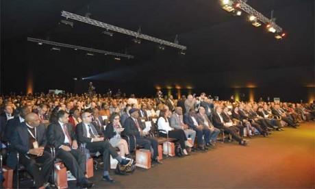 Mohamed El Kettani, PDG du groupe Attijariwafa bank, a confirmé que le Forum sera désormais annuel.                                                                                     Ph. Saouri