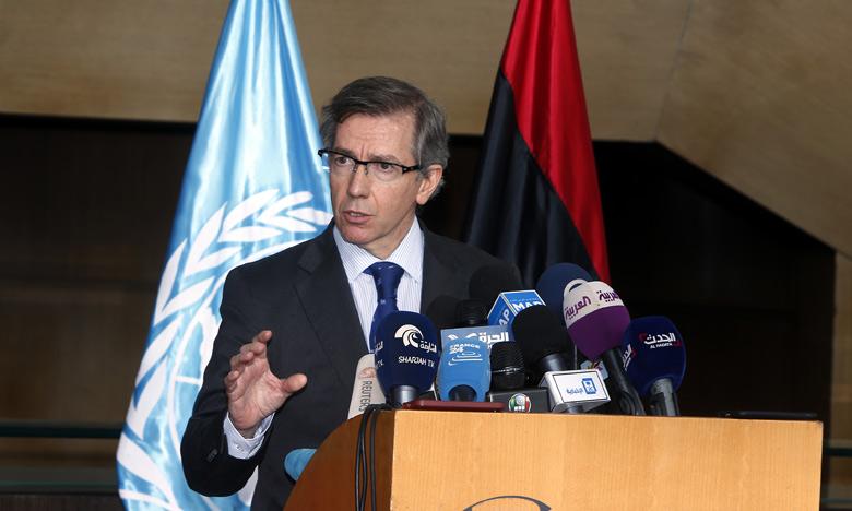 Bernardino Leon, le représentant spécial du secrétaire général de l'ONU pour la Libye.