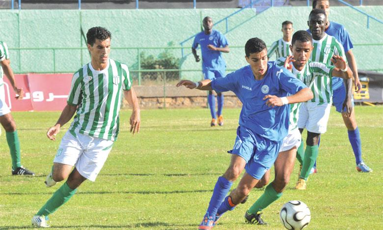 Bernoussi proche du but, match interrompu à Dakhla