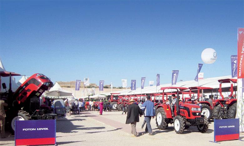 «50% du chiffre d'affaires annuel des machines agricoles est réalisé durant les quelques jours que dure le SIAM», selon Jaouad Chami.