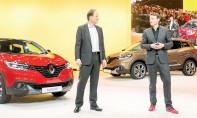 Kadjar en vedette  sur le stand Renault