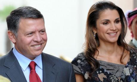 Le Roi et la Reine de Jordanie entament aujourd'hui une visite de travail officielle au Royaume