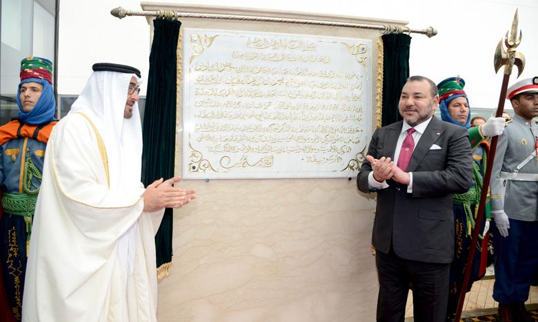 S.M. le Roi et S.A. Cheikh Mohammed Ben Zayed Al-Nahyane inaugurent l'Hôpital S.A. Cheikh Khalifa Ben Zayed Al Nahyane de Casablanca