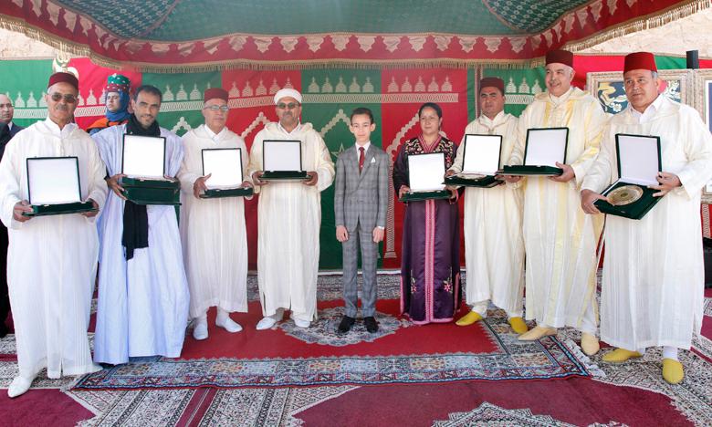 S.A.R. le Prince Héritier Moulay El Hassan préside à Meknès  l'ouverture de la 10e édition du Salon international de l'agriculture