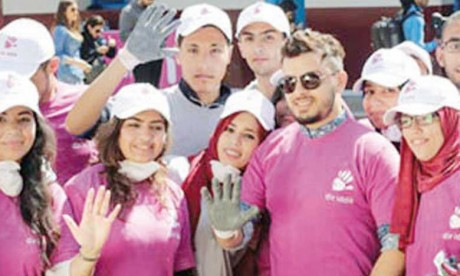 Participation de 2.150  bénévoles à Dir Iddik