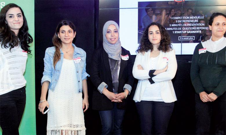Pendant cinq minutes, chacune des participantes a présenté son projet, avant de donner la parole  à l'assistance pour poser des questions sur divers aspects s'y rapportant.