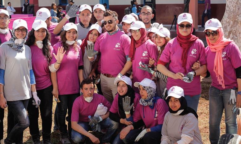 2150 volontaires à Rabat