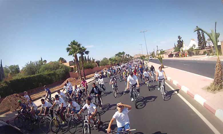 La première édition de la Journée sans voiture, organisée en juin 2014, avait suscité un engouement particulier de la part des Marrakchis.
