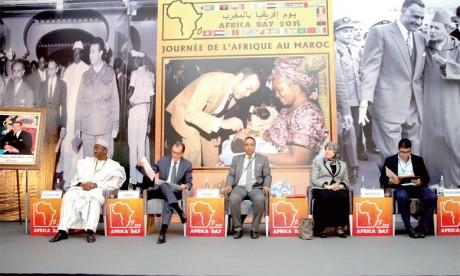 Hommage à l'engagement de S.M. le Roi pour le développement économique du continent