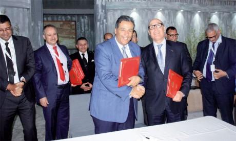 Le Groupe Crédit Agricole du Maroc signe  4 conventions de partenariat avec L'OFPPT