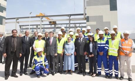 Réalisé pour un investissement global de plus de 1,45 milliard de dirhams, ce mégaprojet bénéficiera à 2,5 millions d'habitants
