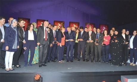 Sept lauréats élus meilleures  marques marocaines de l'année