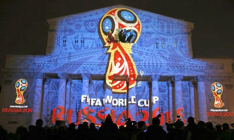 Le logo du Mundial 2018 à Moscou. Ph : lavoixdelamerique.com