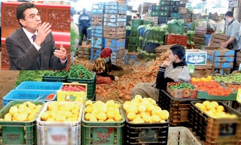 Des mesures nécessaires ont été prises pour l'approvisionnement du marché en denrées alimentaires, durant le mois sacré de Ramadan, a assuré Mohamed El Ouafa.. Ph : DR