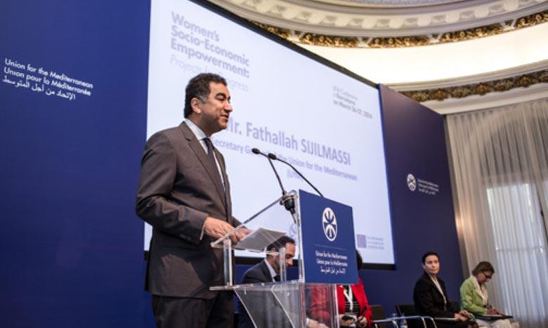 Fathallah Sijilmassi, secrétaire général de l'Union pour la Méditerrannée. Ph : econostrum.info