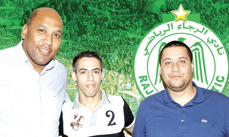 Youssef El Kaddioui a signé un contrat de trois ans.                                                                                                                                                Ph. DR