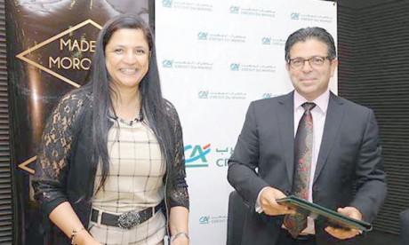 Une convention de coopération entre Maroc Export et Crédit du Maroc