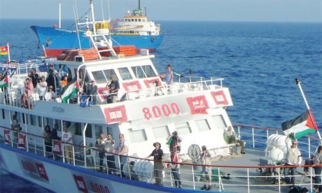 Une nouvelle flottille en route vers Gaza