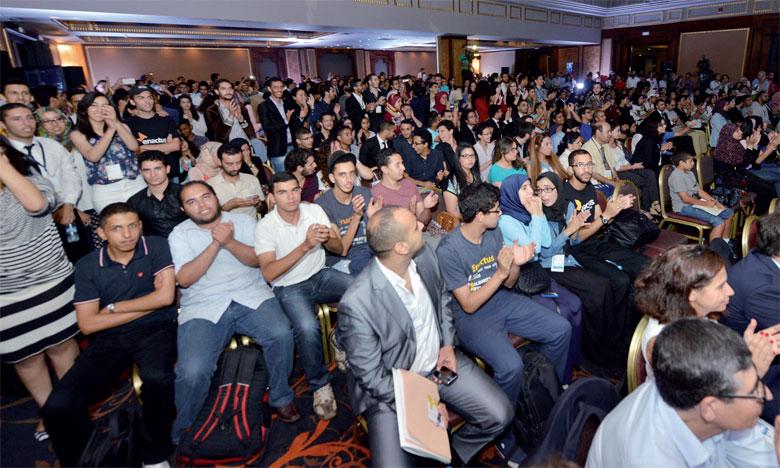 À l'issue des délibérations du jury, l'équipe Enactus EMI a été sacrée championne nationale.