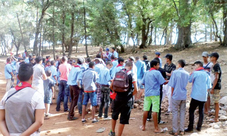 Les jeunes sont heureux de se retrouver pour partager des activités sportives, culturelles et humaines.