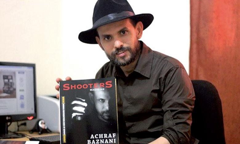 Achraf Baznani était le seul artiste marocain et arabe participant à cette manifestation.