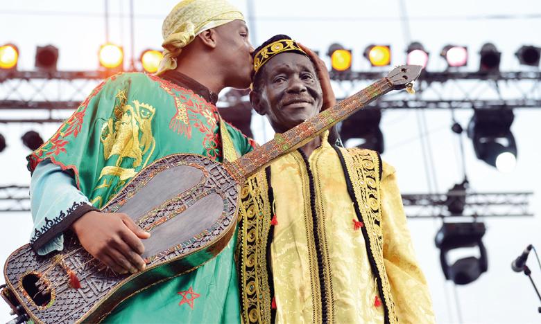 Le mâalem Mahmoud Guinea est considéré comme l'un des piliers de l'art gnaoui.