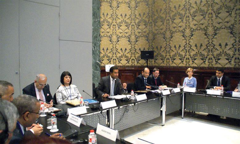 Une réunion de l'UpM à Barcelone. Ph.DR