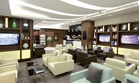 Réouverture du Lounge Premium  du terminal 1 de l'aéroport d'Abu Dhabi