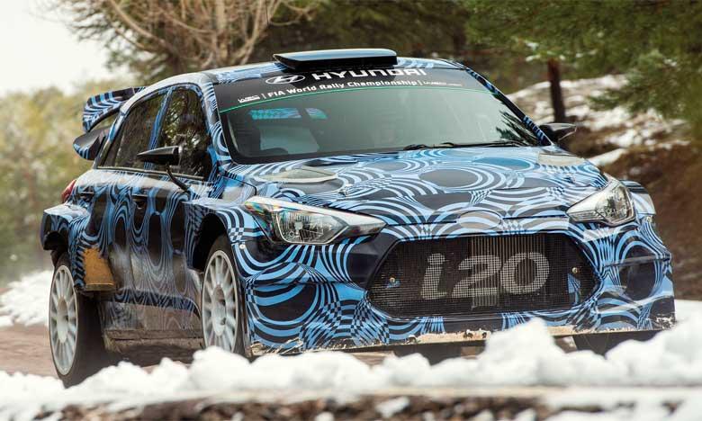Un «teasing» de la i20 WRC de nouvelle génération, qui souligne la passion de Hyundai Motor pour la performance ainsi que sa compétence en ingénierie, sera également visible au Salon de Francfort.