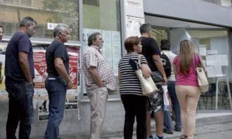 La Grèce détient le record européen du chômage.