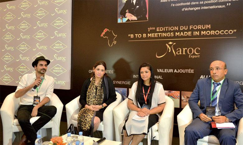Les participants ont été notamment attentifs aux témoignages et retours d'expériences de six entreprises marocaines qui ont tenté l'export en Afrique, en s'associant à d'autres partenaires marocains.             Ph. Saouri.