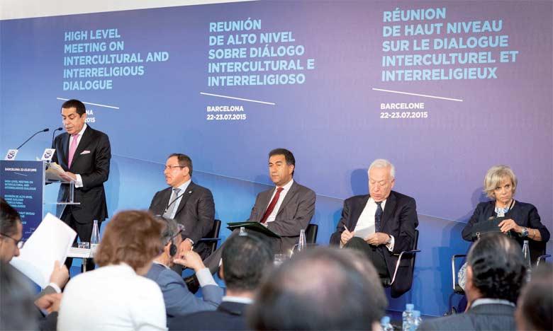 L'UpM  se veut un espace de dialogue entre les cultures et de partage des valeurs de tolérance. Ph.DR