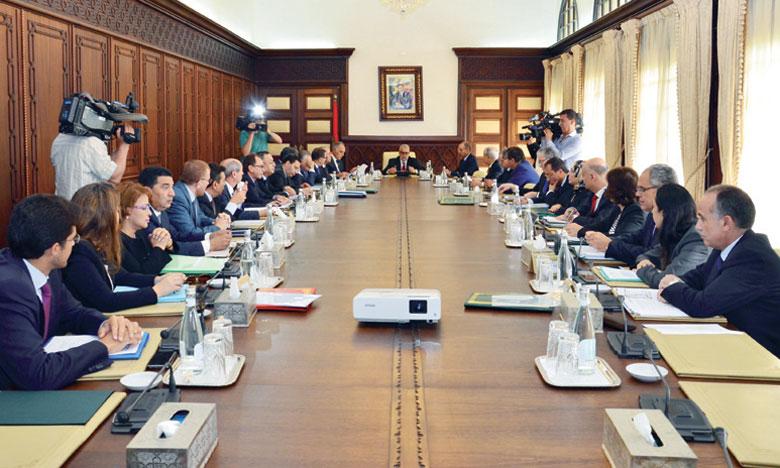 Réunion aujourd'hui  du Conseil de gouvernement