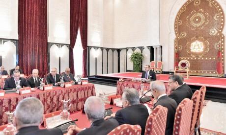 Le Souverain procède à la nomination  des walis des régions selon le découpage  administratif du Royaume