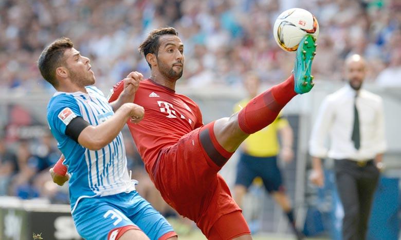 Le défenseur marocain de Bayern Munich, Mehdi Benatia  nominé pour le titre de joueur africain de l'année. Ph : AFP