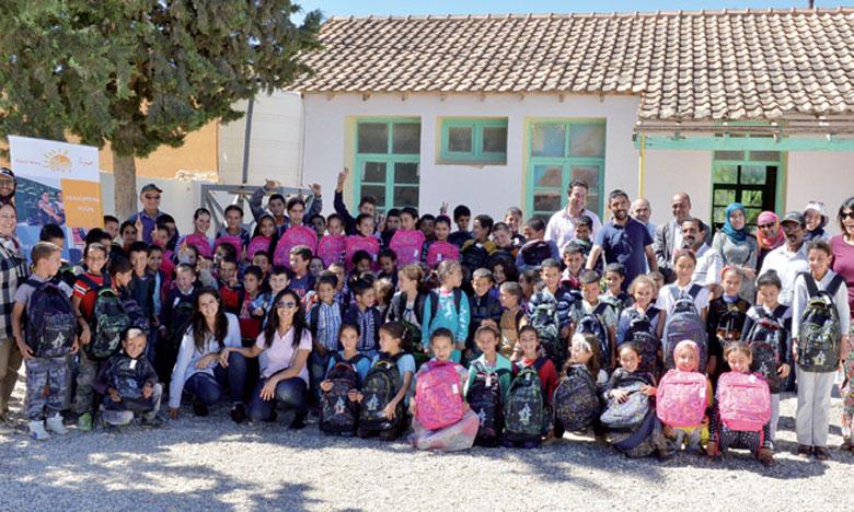 «Ichraka» soutient 500 élèves des écoles rurales «Aït Othman»