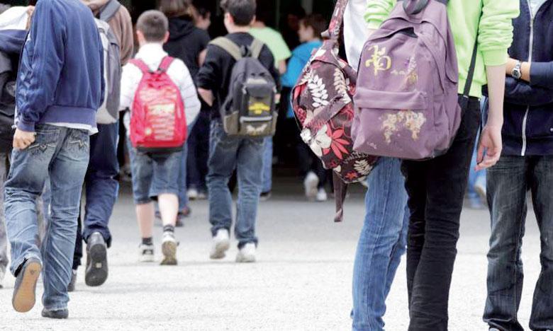 Plus de 680.000 élèves retrouvent les bancs d'école