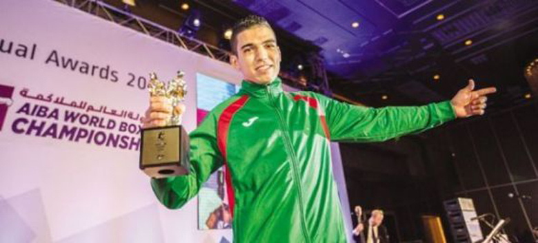 Le pugiliste Marocain Mohamed Rabii sacré champion du Monde de la catégorie des -69kg