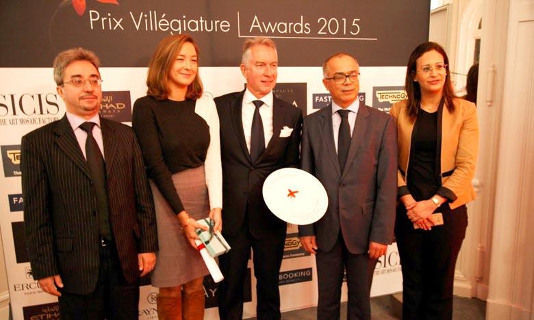 La ville de Marrakech a été à l'honneur pour la 3e année consécutive par le prix Villégiature. Ph : MAP