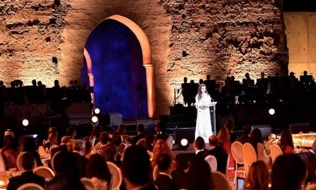 S.A.R. la Princesse Lalla Salma préside à Marrakech une soirée de gala en commémoration des 10 ans de la Fondation Lalla Salma prévention et traitement des cancers