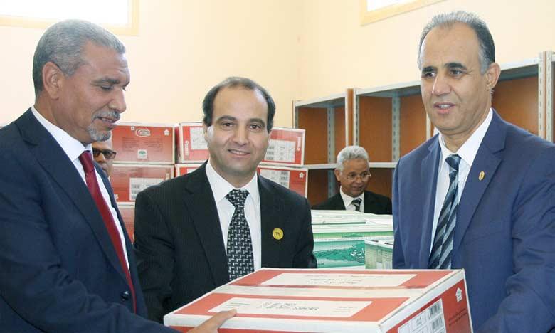 La Fondation  Mohammed V pour  la solidarité fait don  de près de 50.000 cartables