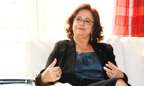 L'ambassadeur du Maroc en Bulgarie, Latifa Akharbach a noté que la vision partagée concernant la migration et le droit d'asile est loin d'être encore une réalité tangible. Ph : MAP