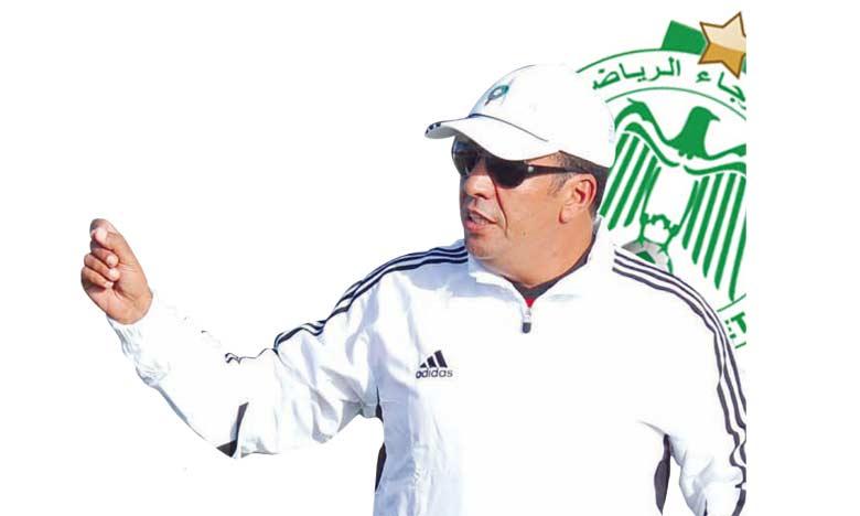 Rachid Taoussi, nouvel entraîneur  des Verts