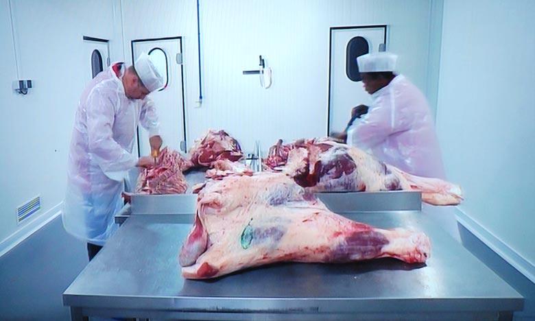 La mise en œuvre du second contrat programme vise à l'horizon 2020, d'atteindre la production de 612.000 tonnes de viandes rouges annuellement, contre 490.000 tonnes actuellement. Ph : Hihi