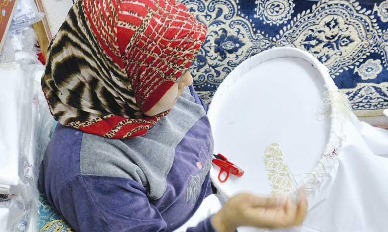 Les artisanes marocaines souffrent d'un réel problème de commercialisation de leurs produits.