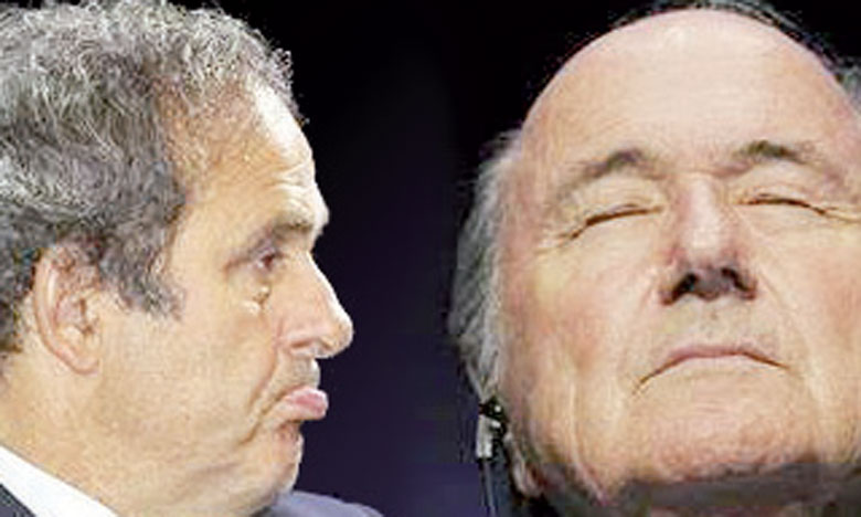 Huit ans de suspension pour Blatter et Platini