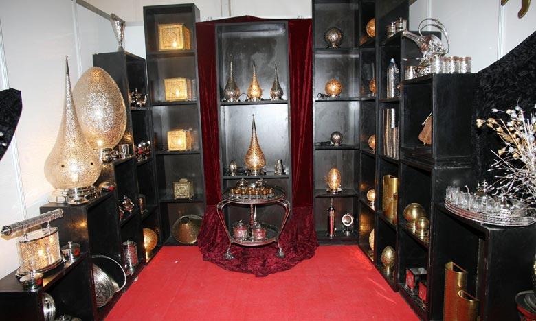 Les stands des exposants marocains mettent la lumière sur des produits fonctionnels qu'esthétiques, qui ne manquent pas d'attirer l'attention des visiteurs de ce Salon. Ph : DR